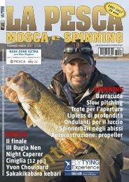 La Pesca Mosca e Spinning 1/2017