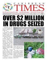 Caribbean Times 83rd Issue - Wednesday 25th January 2017