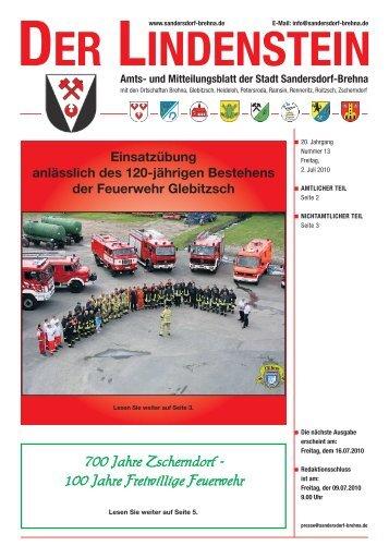 der lindenstein - Stadt Sandersdorf-Brehna