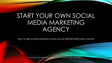 start your own Social media marketing agency - DocShare-01