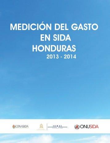MEDICIÓN DEL GASTO EN SIDA HONDURAS