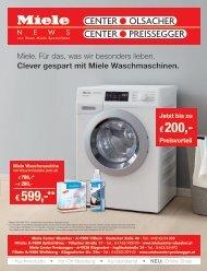 Miele Center Olsacher_Preissegger News