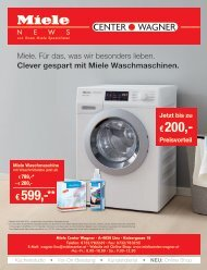Miele Center Wagner News