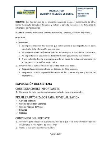 INSTRUCTIVO DE CONSULTA DE CORTE