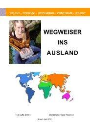 WEGWEISER INS AUSLAND - FH Bingen