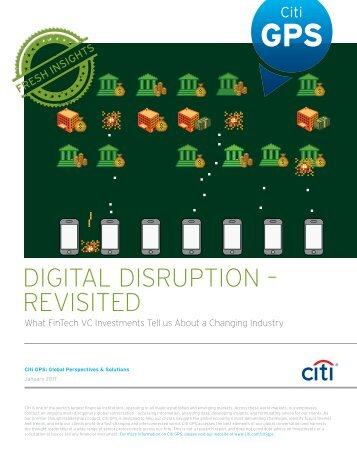 DIGITAL DISRUPTION – REVISITED