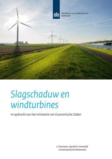Slagschaduw en windturbines