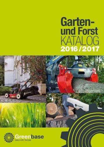 Greenbase Garten- u. Forstkatalog 2017