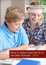 Educators Private Schools Guide