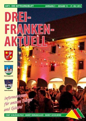 Ausgabe 15/2012 - Geiselwind