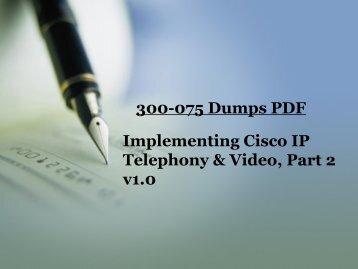 300-075 Exam Dumps Free Download - Dumps4download