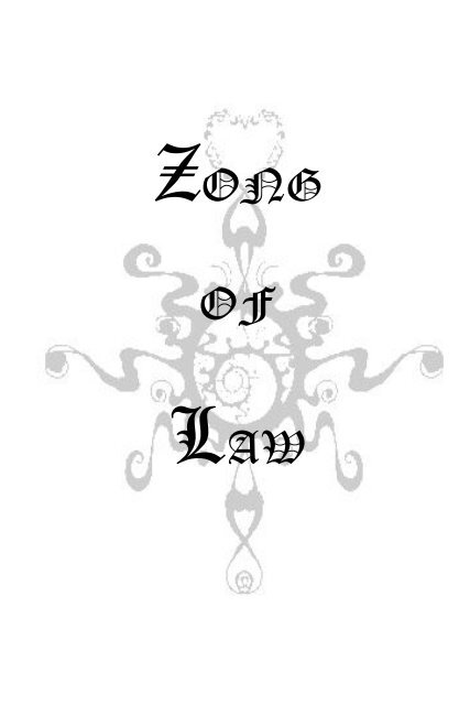 Zong of Law