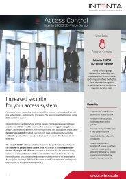 Use Case Access Control - Intenta S2000