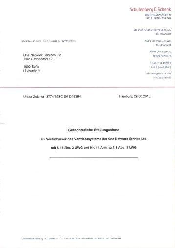 Schulenberg & Schenk in D