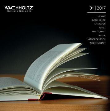 Wachholtz Verlag Verlagsprogramm 01/2017