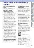 Sony MHS-FS1K - MHS-FS1K Istruzioni per l'uso Spagnolo - Page 3