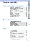 Sony MHS-FS1K - MHS-FS1K Istruzioni per l'uso Spagnolo - Page 7