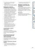 Sony MHS-FS1K - MHS-FS1K Istruzioni per l'uso Ungherese - Page 4