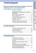 Sony MHS-FS1K - MHS-FS1K Istruzioni per l'uso Ungherese - Page 7