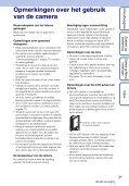 Sony MHS-FS1K - MHS-FS1K Istruzioni per l'uso Olandese - Page 3
