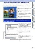 Sony MHS-FS1K - MHS-FS1K Istruzioni per l'uso Tedesco - Page 2