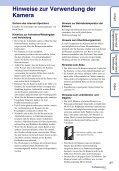 Sony MHS-FS1K - MHS-FS1K Istruzioni per l'uso Tedesco - Page 3