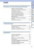Sony MHS-FS1K - MHS-FS1K Istruzioni per l'uso Tedesco - Page 7