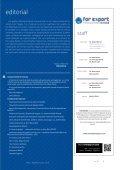 Revista For Export |  Edición 5 - Page 3