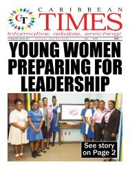 Caribbean Times 84th Issue - Thursday 26th January 2017