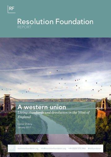 A western union