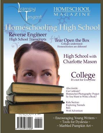 Fall 2016   Free Edition   Homeschooling High School