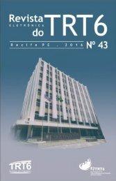 Revista Eletrônica do TRT 6 Nº 43