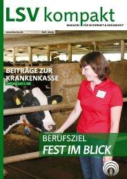 LSV kompakt 3/2009 - Die Landwirtschaftliche Sozialversicherung