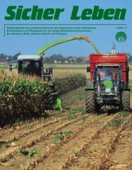 Mitteilungsblatt der Landwirtschaftlichen Berufsgenossenschaft ...