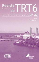 Revista Eletrônica do TRT 6 Nº 42