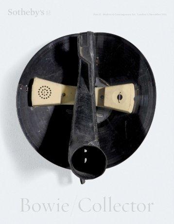 Bowie - Sothebys - 2