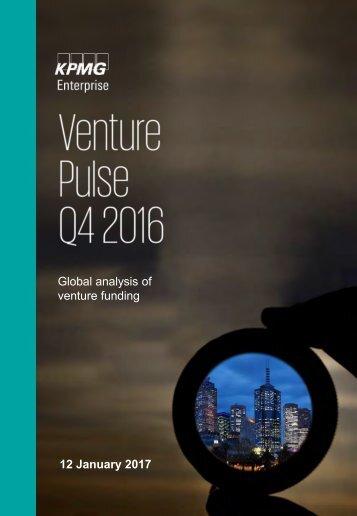 Global analysis of venture funding 12 January 2017