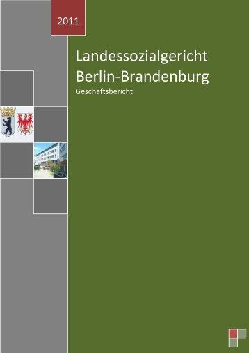 Landessozialgericht Berlin-Brandenburg - Landessozialgericht der ...