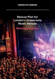 Music Venues Making progress