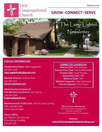 The Lamp Lighter Newsletter