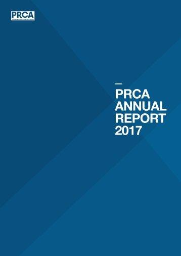 PRCA ANNUAL REPORT 2017