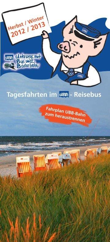 Info-Hotline UBB-BUS 03 83 78 - UBB Usedomer Bäderbahn GmbH