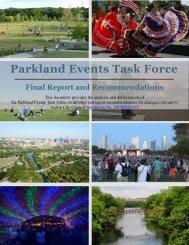 Parkland Events Task Force