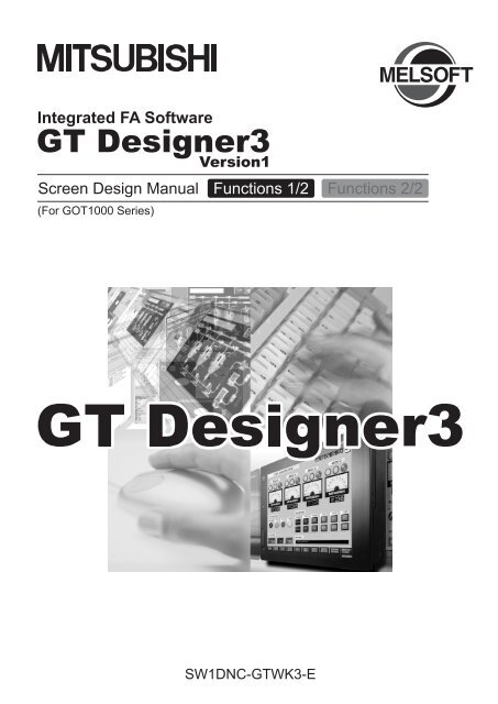 GT Designer3 Version1 Screen Design Manual (Functions)