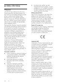 Philips 5000 series Téléviseur Edge LED Smart TV 3D - Mode d'emploi - LAV - Page 6