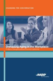 Disrupting Aging in the Workplace