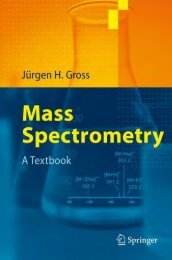 Mass Spectrometry A Textbook - Department of Mathematics and ...