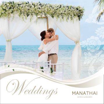 MANATHAI Hotels & Resorts Wedding Booklet