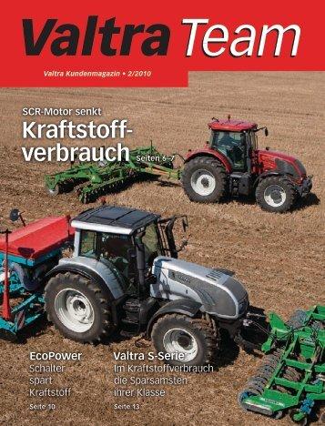 Traktorübergaben Österreich - Valtra