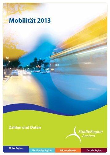 Mobilitätsbericht 2013